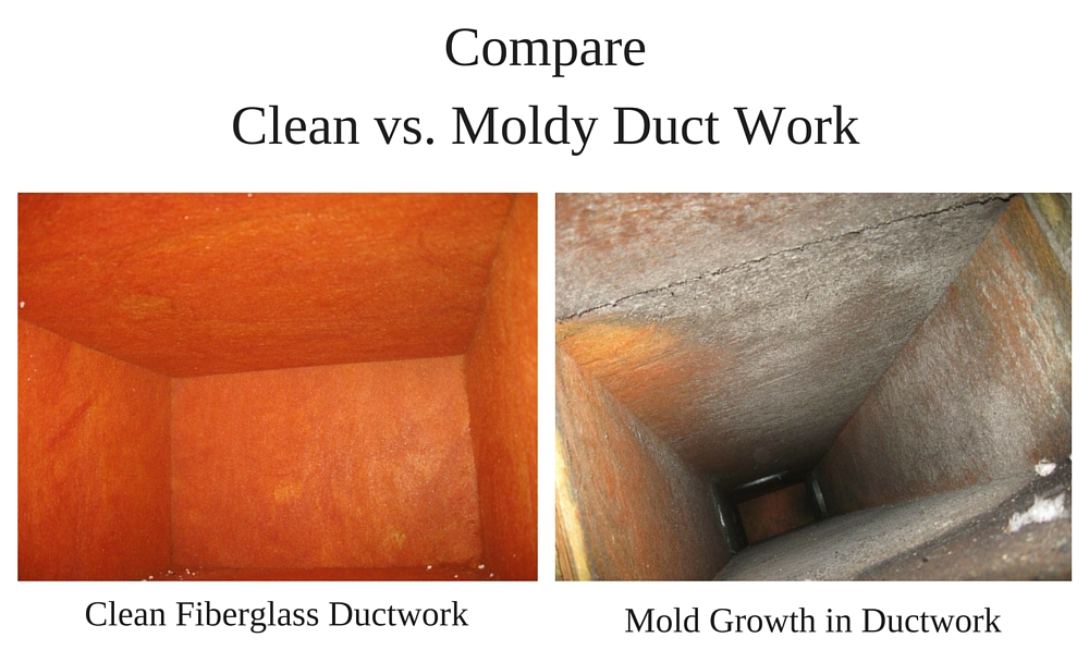 Mold-in-ductwork